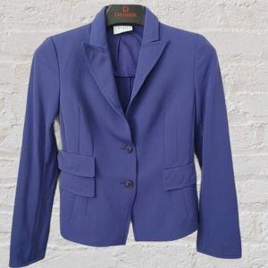 Akris Punto 💯 Wool purple blazer size 6